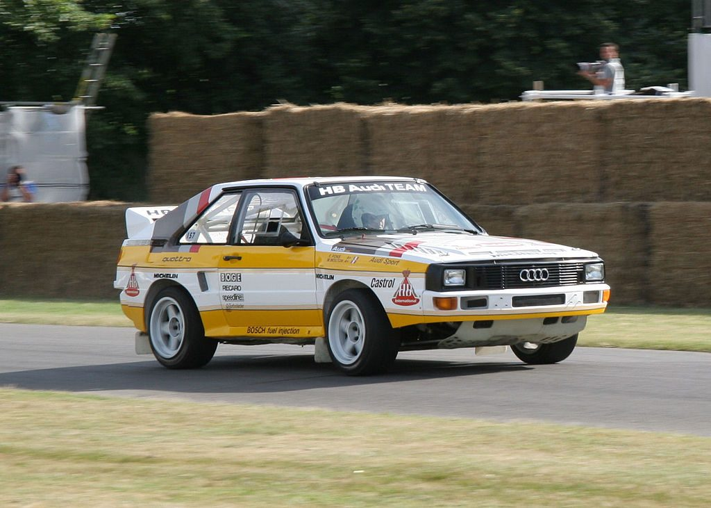 Audi Quattro S1 au Festival Of Speed de GoodWood