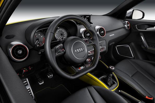 Tableau de bord de l'Audi S1 Sportback