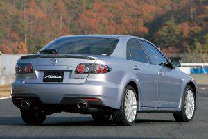 Mazda 6 MPS de 3/4 arrière