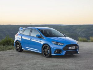 Ford Focus RS 3 - vue 3/4 avant