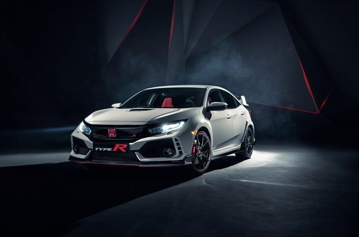 Honda Civic Type R à Genève 2017
