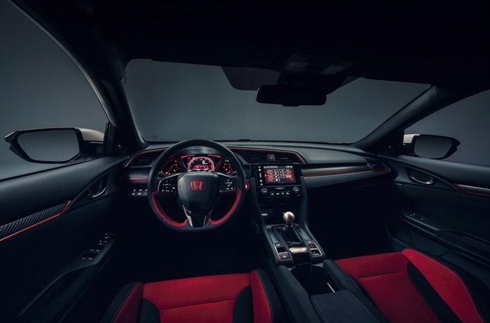 Intérieur de la nouvelle Honda Civic Type R