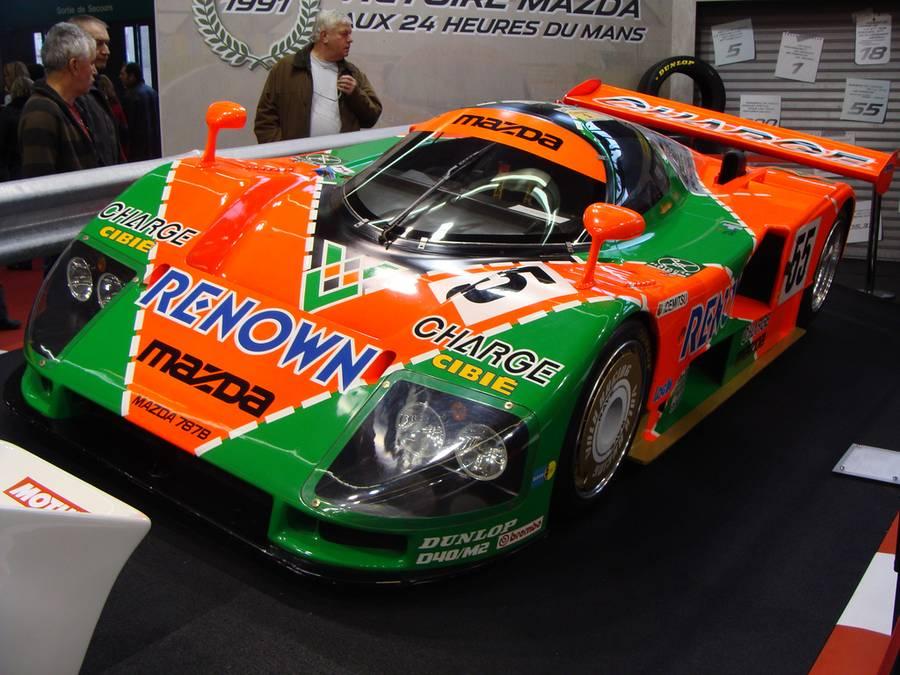 Mazda 787B au musée des 24h du Mans