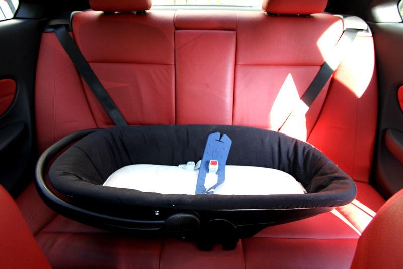 Nacelle dans une BMW 125i