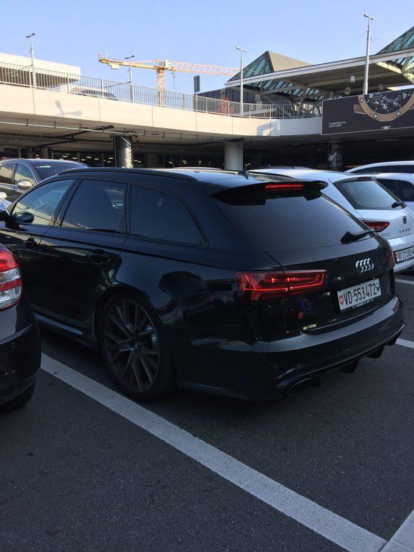 Audi RS6 à Genève