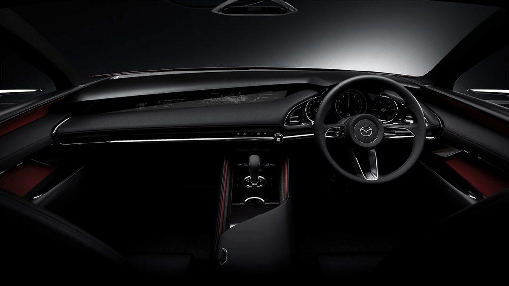 A bord de la Mazda Kai
