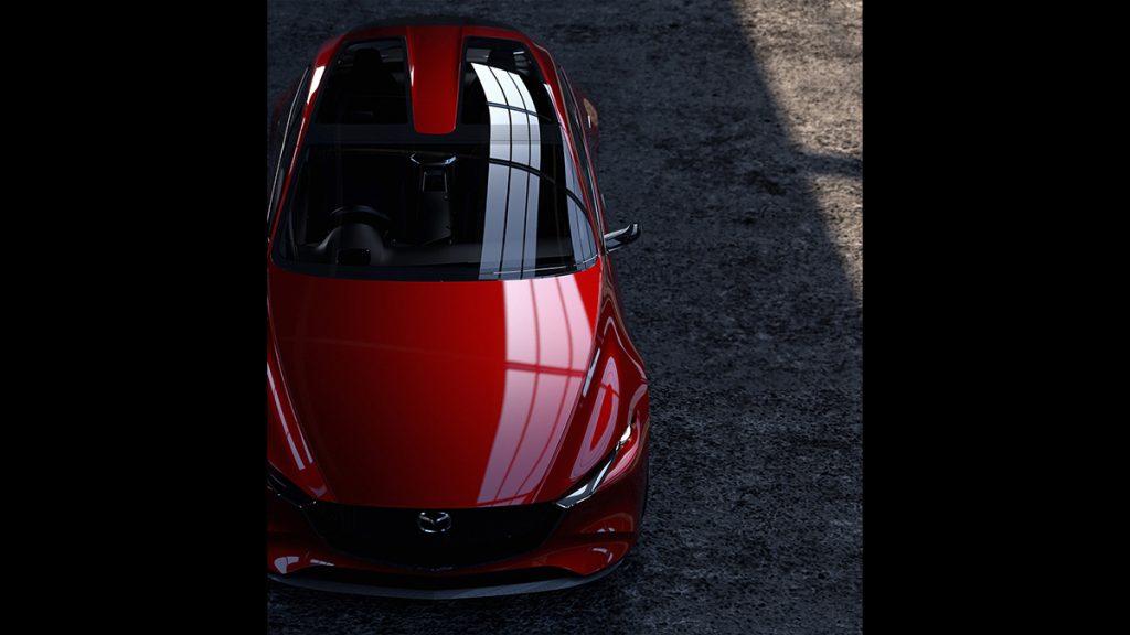Mazda Kai - Toit panoramique