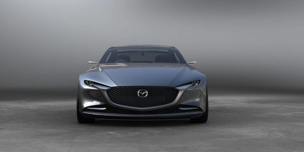 Mazda Vision Coupe - de face