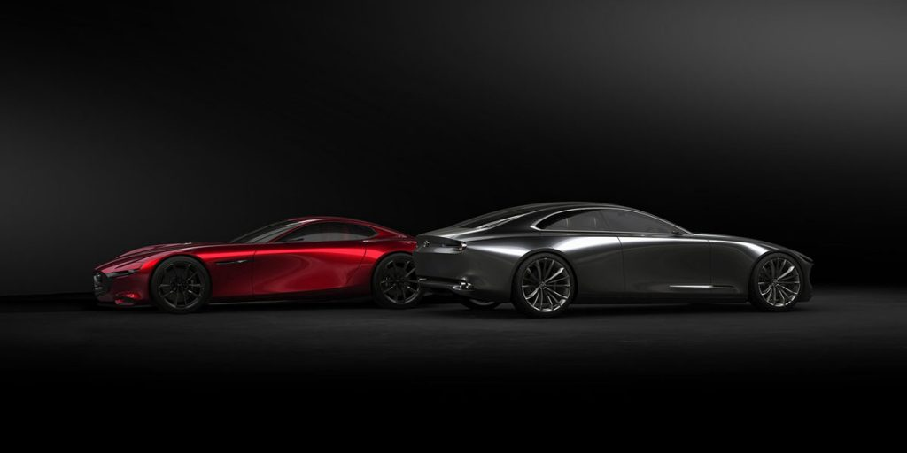 Mazda Vision Coupe & Mazda RX-Vision