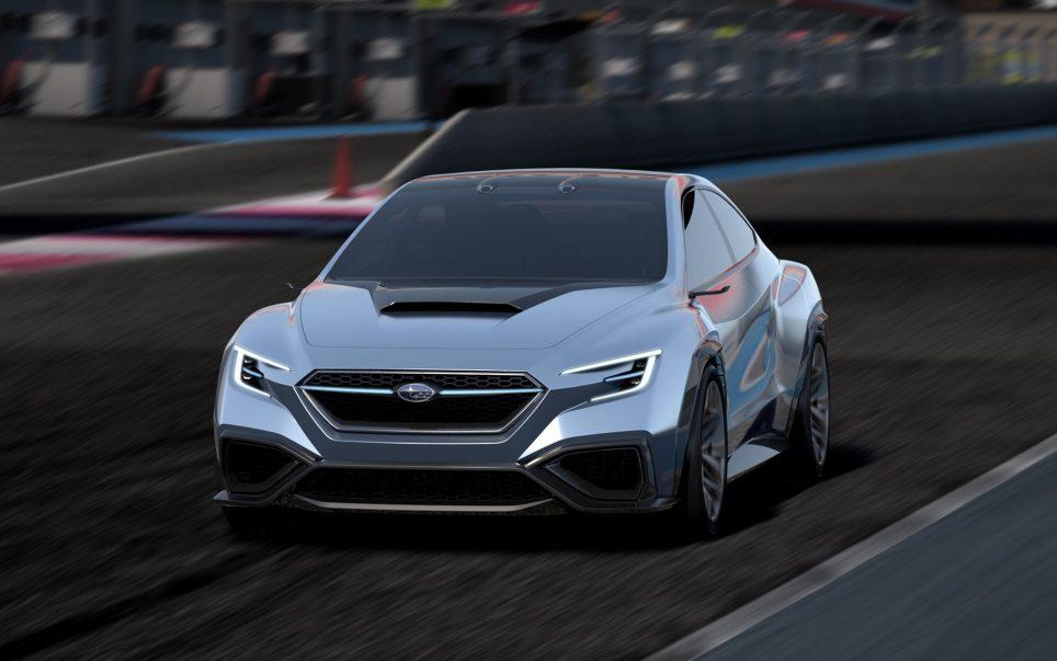 Subaru WRX STI, ou plutot Viviz Performance Concept