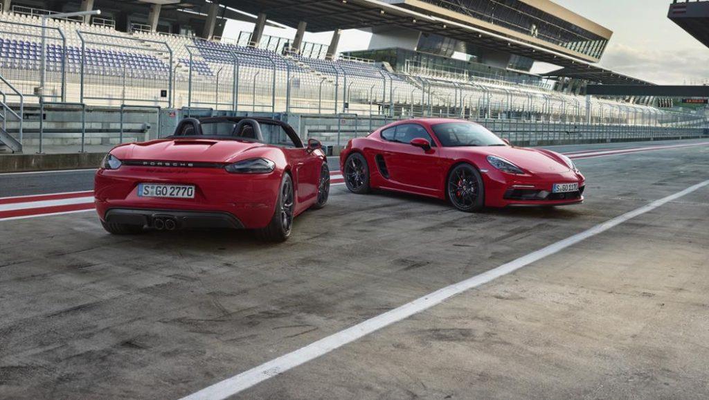 Porsche 718 Boxter GTS et 718 Cayman GTS