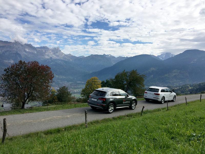 Audi Q5 et Audi Q7 e-tron