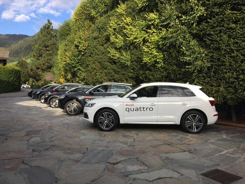 Audi Quattro Experience - Essais de véhicules Audi, quattro uniquements !