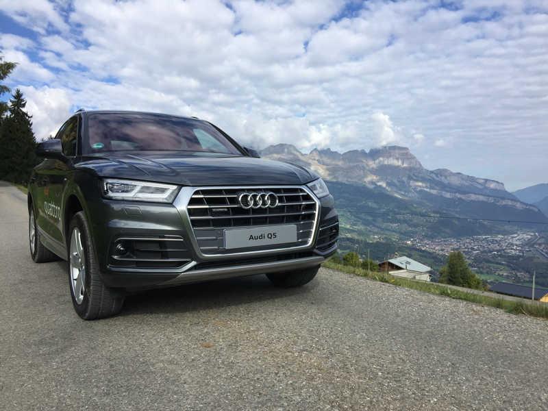 Audi Q5 et le pays du Mont Blanc