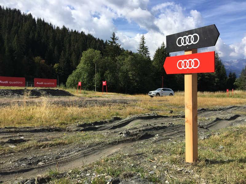 Parcours OffRoad Audi
