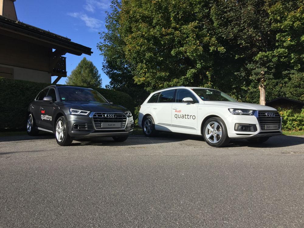 Audi Q5 et Q7 e-tron