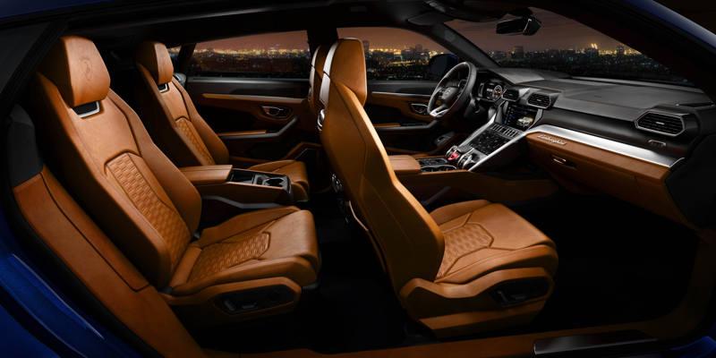 Lamborghini Urus - à l'arrière