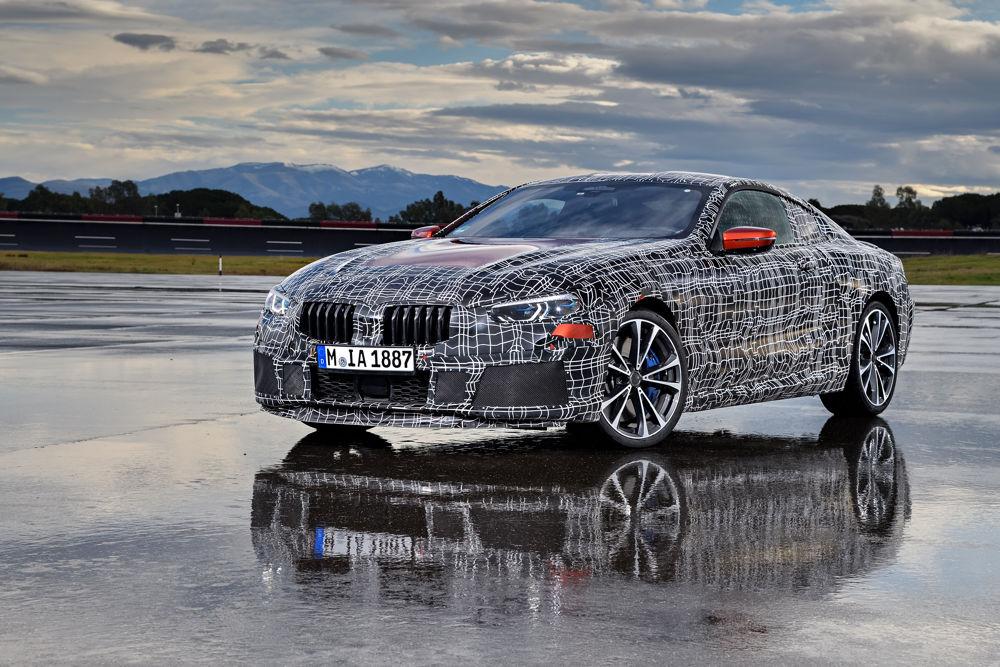 BMW Serie8 - 3/4 avant