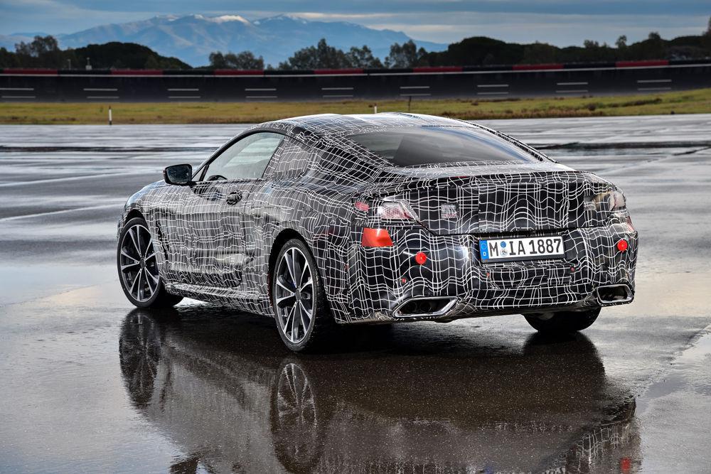 BMW Serie8 - 3/4 arrière
