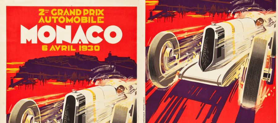 Posters auto rétros