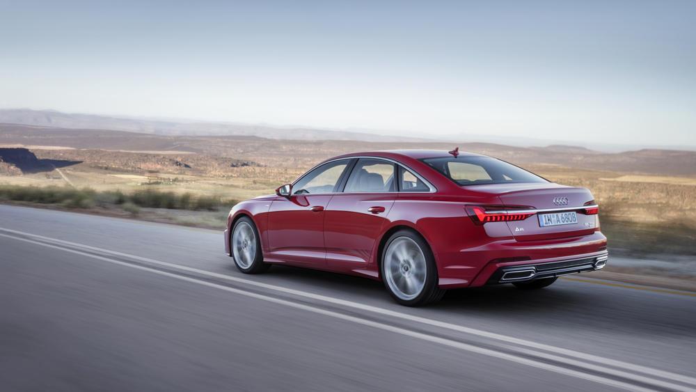 Nouvelle Audi A6 - vue arrière