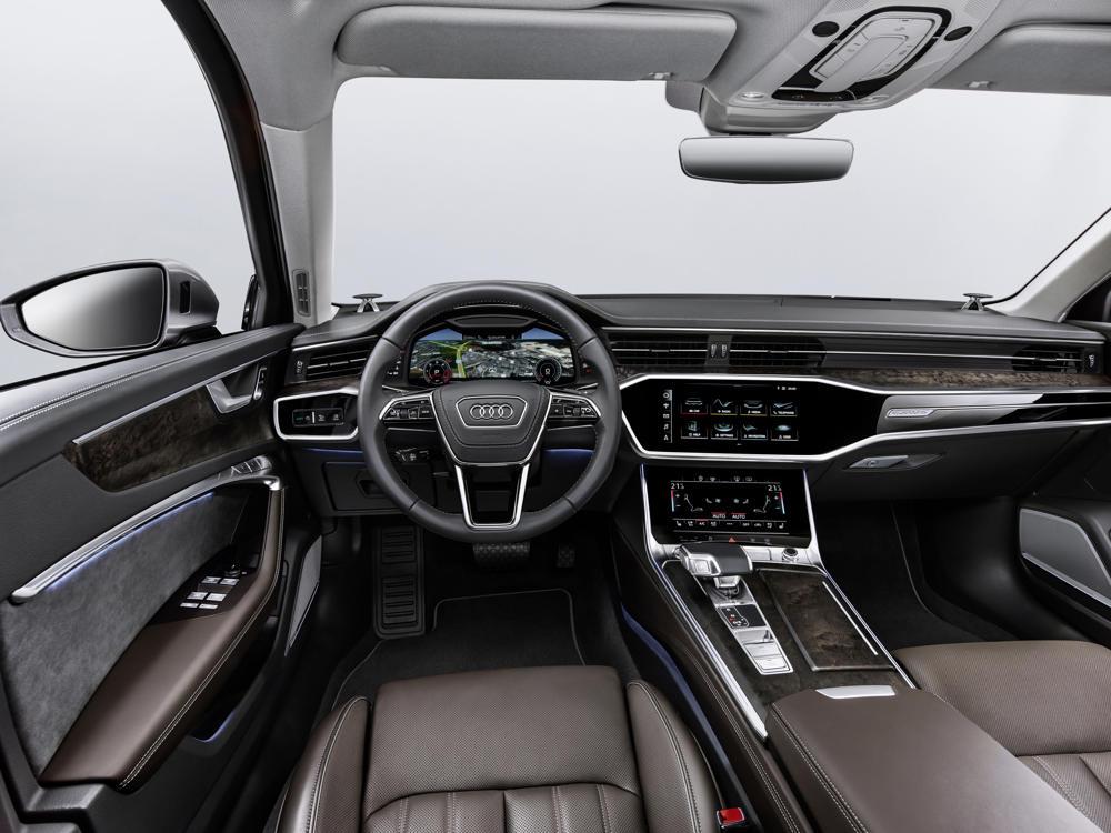 Tableau de bord Audi A6
