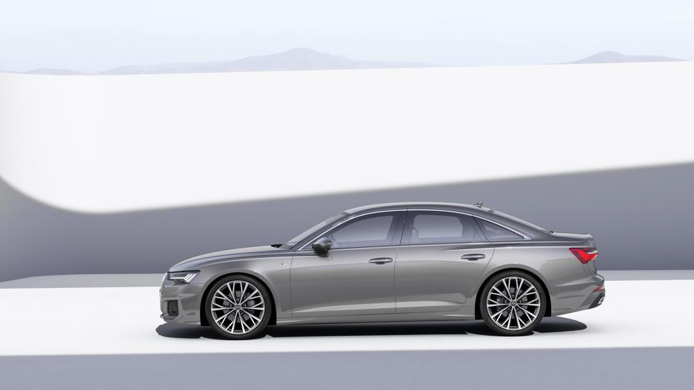 Nouvelle Audi A6 de profil