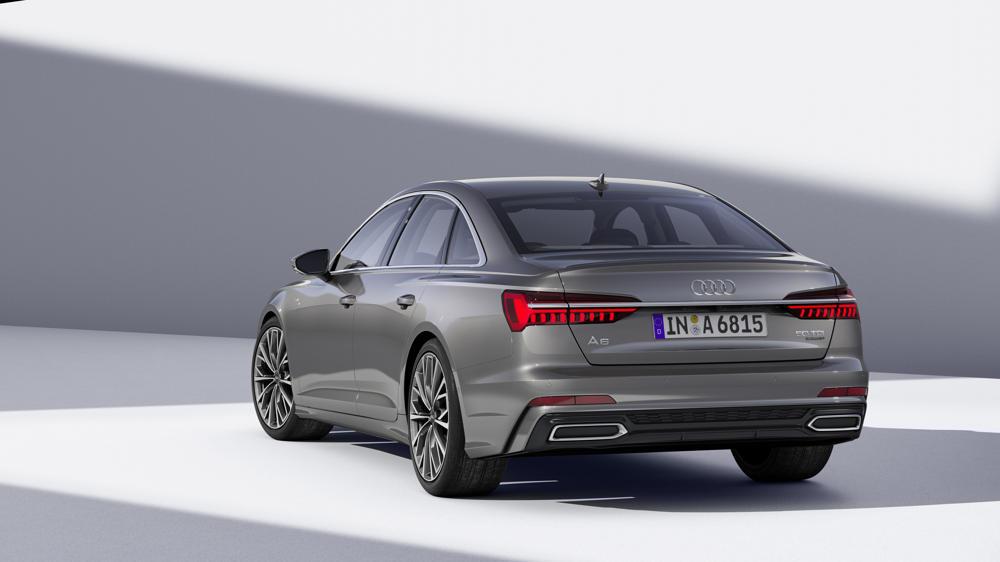 Nouvelle Audi A6 feux arrières