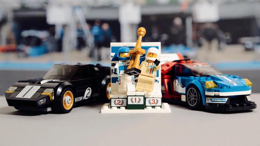 Duo de Lego Ford GT victorieuses au Mans