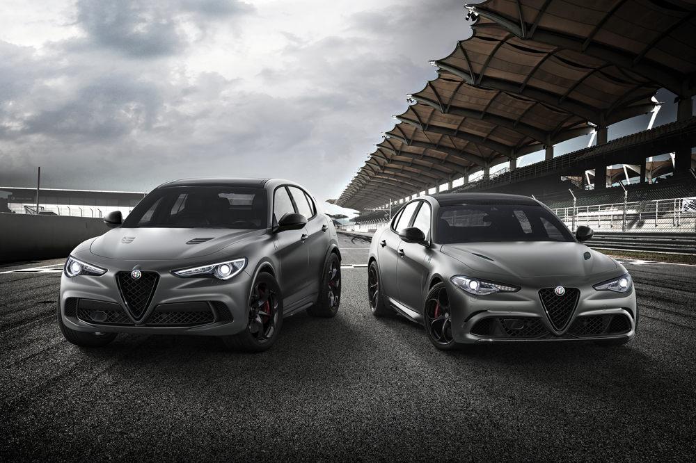 Alfa Romeo Giulia Nring et Stelvio Nring
