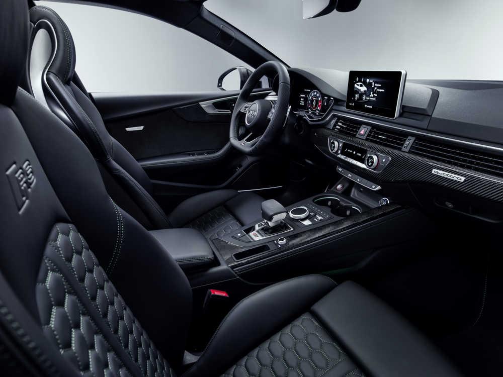 intérieur Audi RS5 Sportback