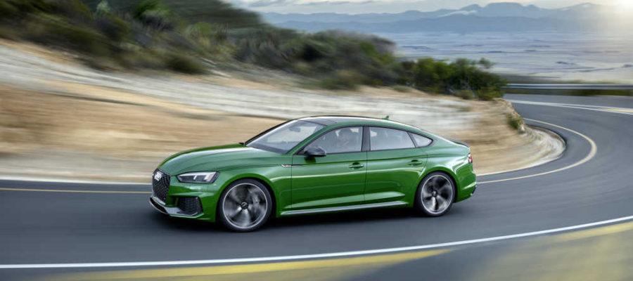 Audi RS5 Sportback papa pressé