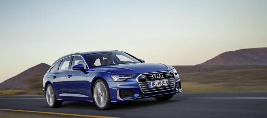 Audi A6 Avant papa pressé