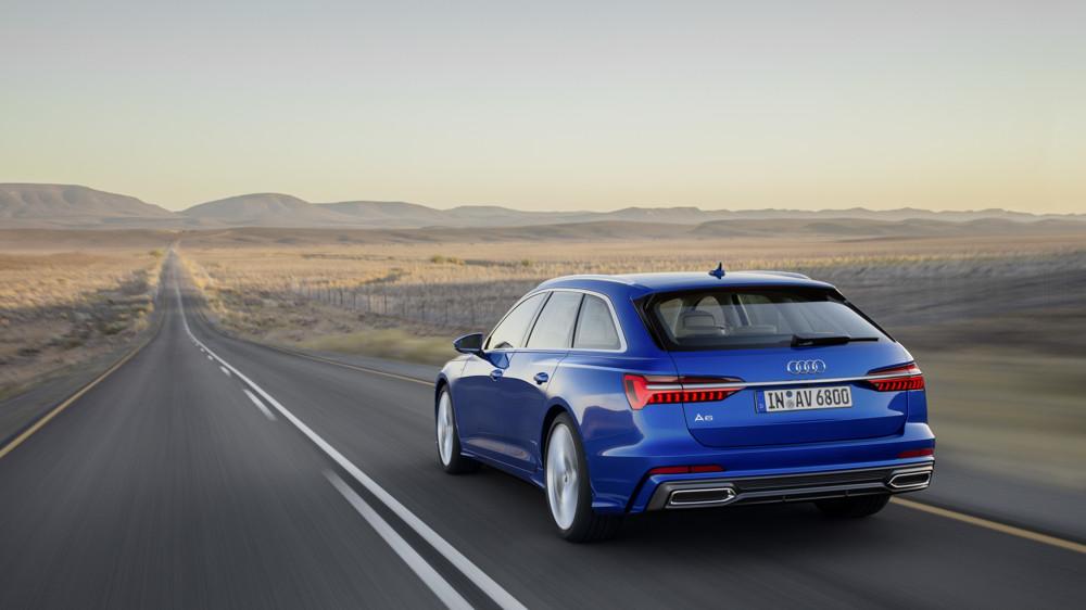 Audi A6 Avant vue arrière