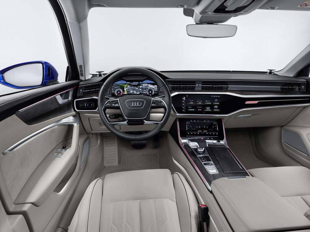 Audi A6 Avant tableau de bord