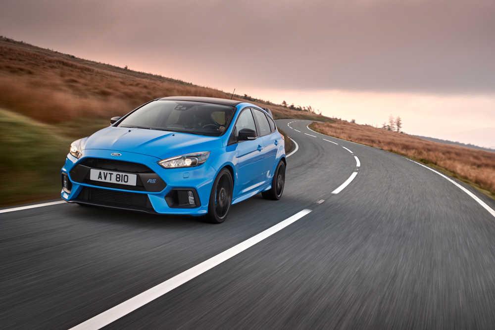 Ford Focus RS papa pressé