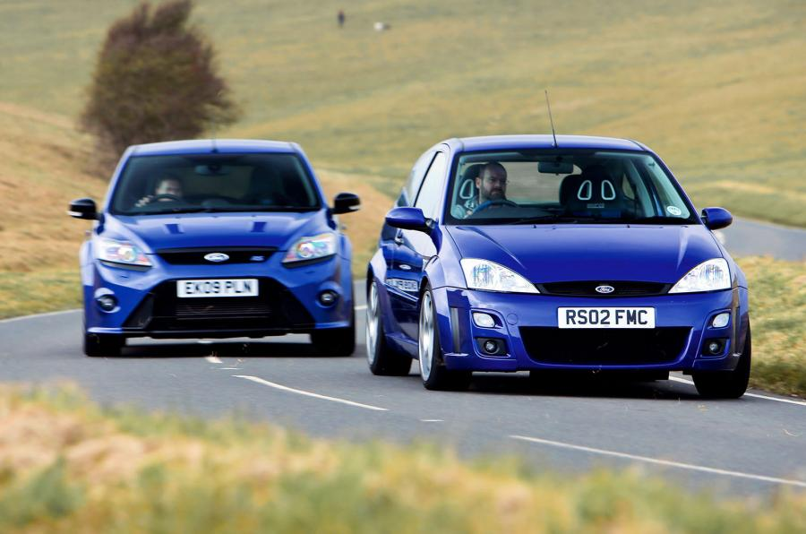 Ford Focus RS 1 &2