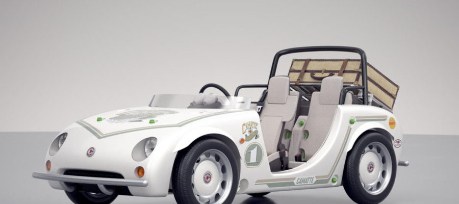 Toyota camatte voiturette enfants