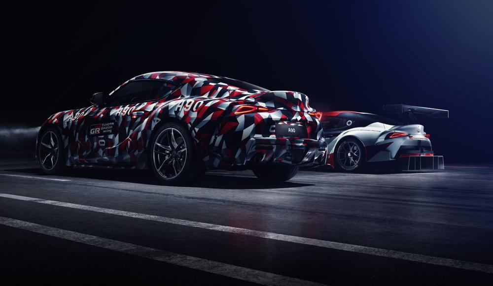 Toyota Supra et Toyota Supra GR Racing Concept