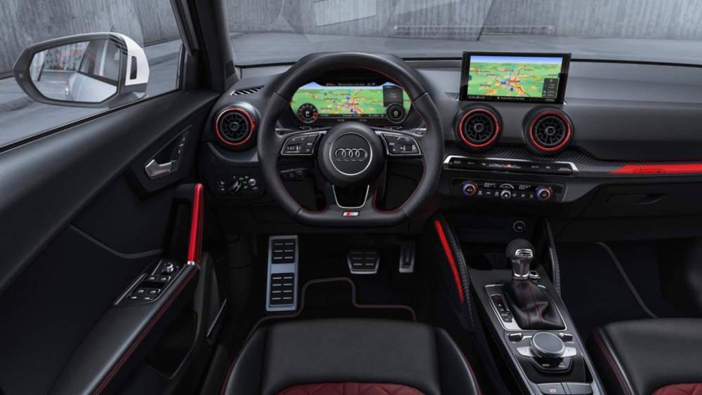Audi sQ2 tableau de bord