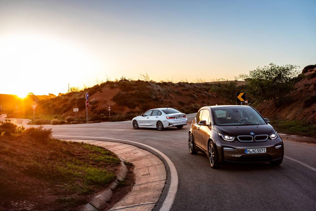 Une BMW serie 3 hybride, comme la BMW i3